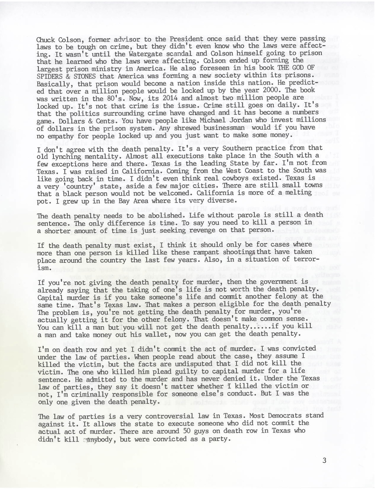 Massachusetts courts ray jasper ray jaspers letter page 3 of 7 spiritdancerdesigns Gallery